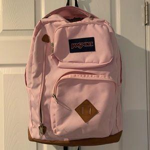 I'm selling a Jansport backpack (light pink)!
